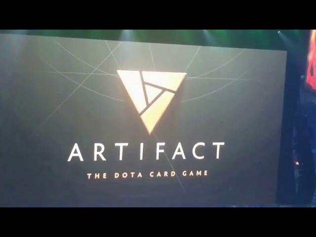 Реакция зрителей на анонс игры Artifact