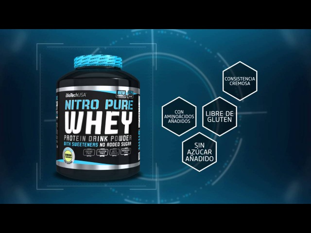 Nitro Pure Whey, la opción fácil y cremosa! - BioTechUSA