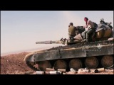 Scenes army assault and its allies Daesh Fortifications and controls that govern the hills ...