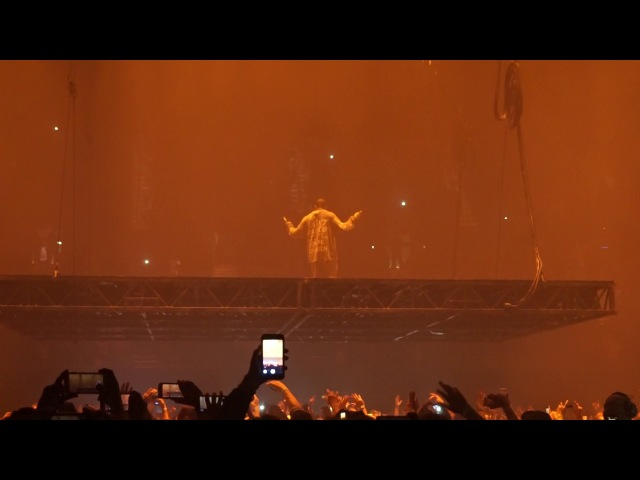 Kanye West Asks Fans To Sing For Kid Cudi