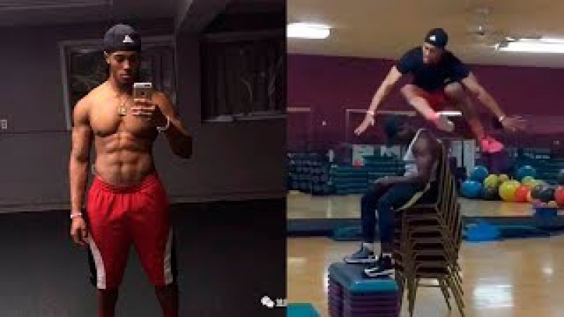 Devonte Wilson | Monster of the Vertical Jump | Workout Compilation