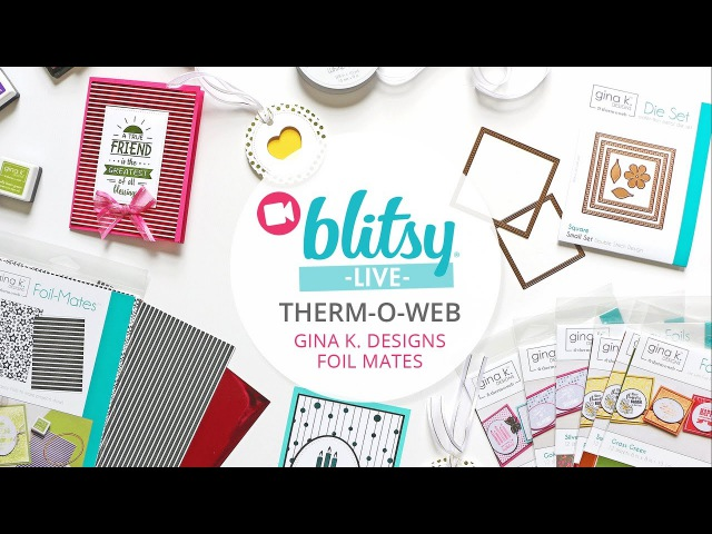 Replay: Gina K. Designs Foil-Mates Facebook Live