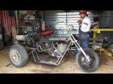Trike   homemade   H A M M E R  motorcycle garage