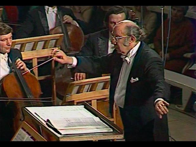 Gennady Rozhdestvensky conducts Schnittke Peer Gynt Epilogue - video 1987