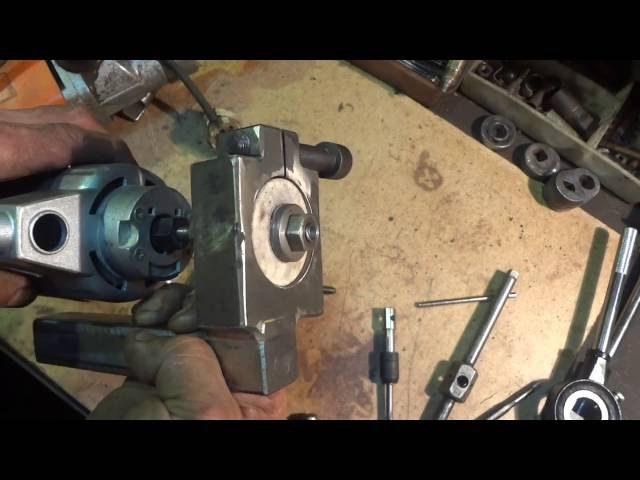 1К62 сверлильная державка для токарного станка.