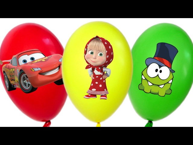 Learn Colors with Balloons / Baby Finger Family Song Nursery Rhymes