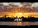 4K San Diego Coastal Relaxation 1HR Nature Video w Ocean Sounds UHD