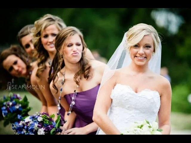 18 Голые и смешные невесты 18 Naked and funny bride.