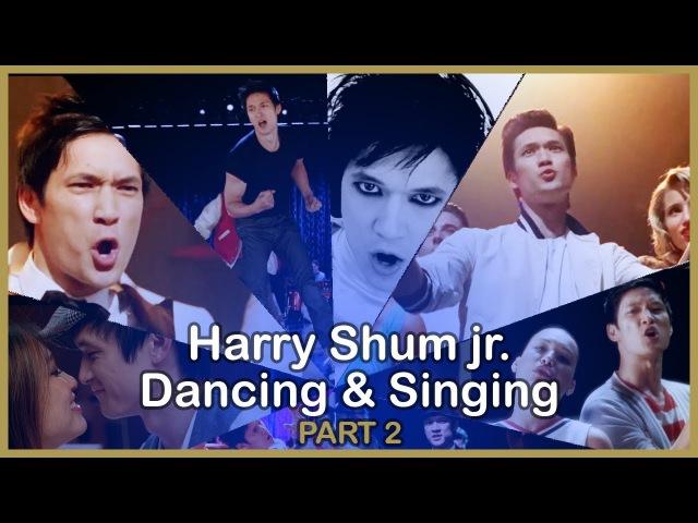 Harry Shum Jr Dancing Singing in Glee - PART 2
