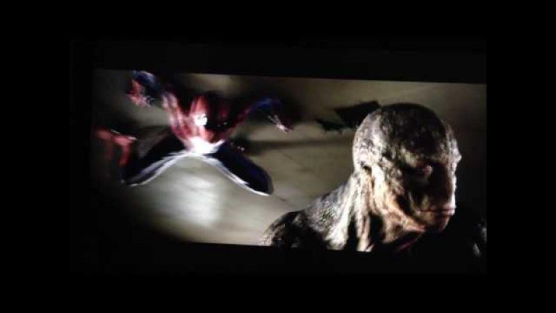 Homem aranha VS Lagarto(luta da escola)