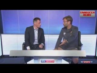 Jurgen Klopp & Jamie Carragher Talk Tactics Liverpool vs Manchester United