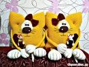 Вязаные подушки-игрушки - идеи для вдохновения