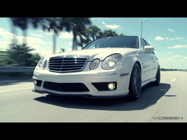 Mercedes Benz E63 AMG on 20 Vossen VVS-CV3 Concave Wheels / Rims