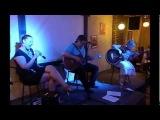 Дар Ветер и GuitarLady - ПИТЕРБЛЮЗ  (джем перед концертом)