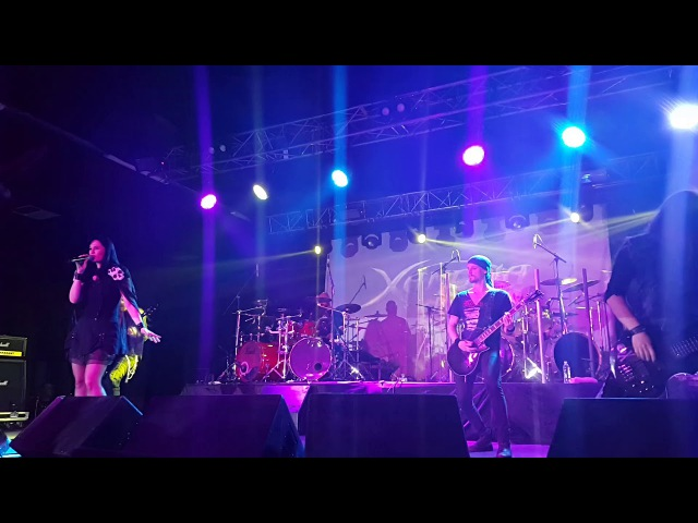 Xandria - Blood on my hands (Krasnodar 20 may 2016 )
