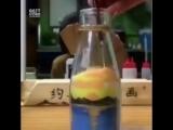 рисунок из песка в бутылке