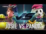 Tekken 7 - PS4 XB1 PC - Josie VS Panda (Character Gameplay)