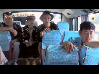 170705 Chanyeol, Suho preview Let's Eat Dinner Together (на 170712)
