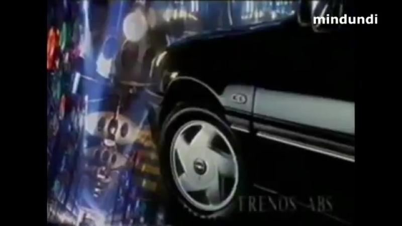 1993 Opel Vectra, Alcance un nivel superior - Publicidad España Anuncio Spain Ads