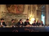 Beauty and the Beast- press conference Emma Watson, Luke Evans, Josh Gad, Bill Condon Alan Menken
