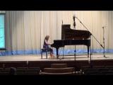 Алиса Кельдышева  II Всероссийский конкурс исполнителей классической музыки