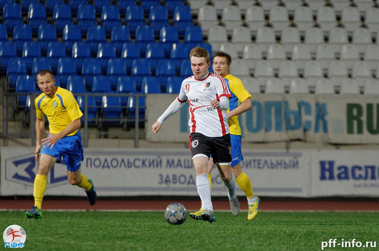 «Сокол» уступил в первом матче финала Лиги Чемпионов МО