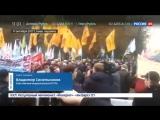 Киев. Луценко пообещал не сносить палатки у Верховной рады
