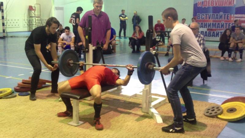 Алимгулов Линар жим 67.5 при весе 48 кг