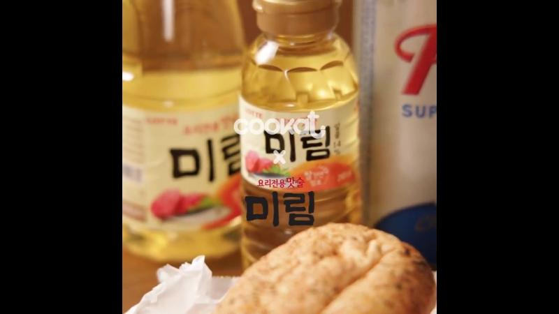 Food KOREA스테이크 샌드위치