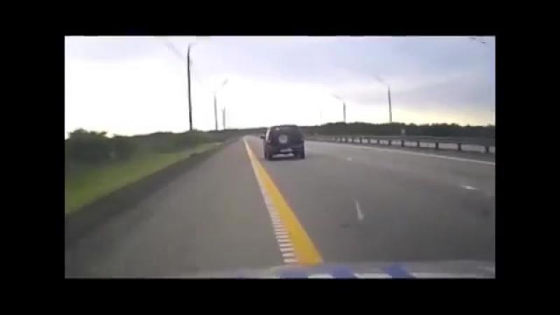 Водитель «Нивы» устроил погоню с ДПС по встречной полосе воронежской трассы М-4 «Дон»