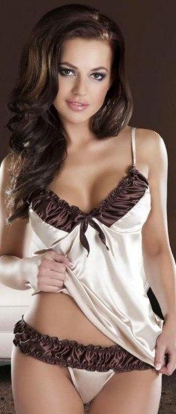 Stunning adriana has her big tits creamed
