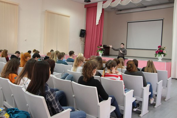 Мастер - класс дня студентов строительного техникума.  Руководитель