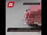 В Ставрополе пьяная голая девушка лезла в чужие машины