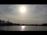 Закат в Московских водниках Подписывайтесь к нам в инстаграм ?http://instagram.com/moskovskie_vodniki