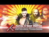 Don't Miss The Extreme Rules Fatal 5-Way in TWO WEEKS on WWE Network