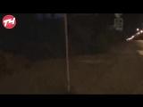 В Челябинске на перекрёстке улиц Российской и Нагорной появилась цветная «зебра». Прямая трансляция!