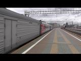 Поезд № 376 Москва - Воркута. Ярославский вокзал, Москва.