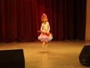 Танец под дождём Алиса Глущенко, сольный номер
