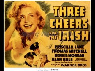 Three Cheers for the Irish (1940)   Priscilla Lane, Dennis Morgan, Thomas Mitchell, Virginia Grey