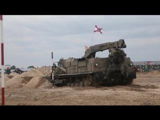 Подготовка военных инженеров к Международным этапам конкурсов Безопасный маршру
