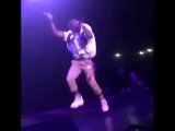 Lil Uzi Vert performed with a Polar bear backpack