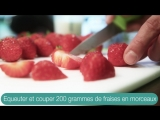 Крем-брюле с миндалём и красными фруктами «Energy Diet»