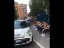 Алина Зимина и Вика Кураева. Кастинги в Милане!