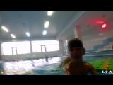 Тест новой камеры в бассейне