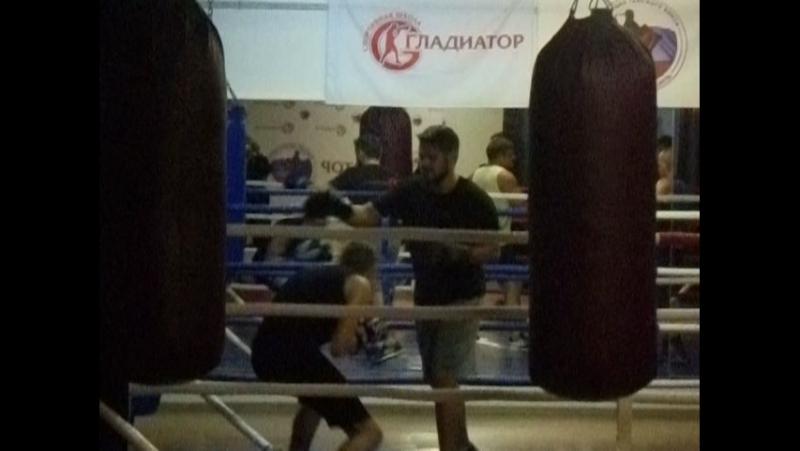 Старшая группа по боксу
