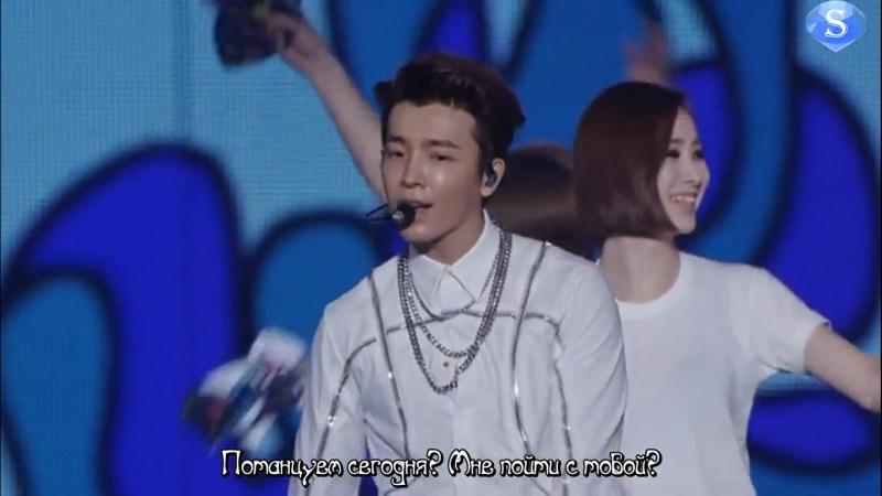 Super Junior (슈퍼주니어) - Hello (DE (Donghae Eunhyuk)) [Super Show 6 (SS6) In Japan, Tokyo] (рус.саб)
