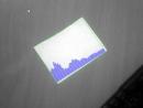 Анализ звукового спектра на листе бумаги
