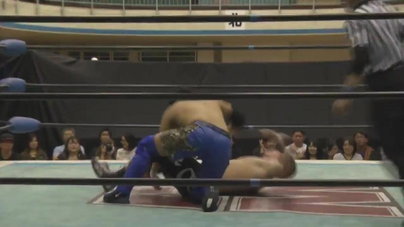 Ganseki Tanaka vs. Shunsuke Sayama (Wrestle-1 - ACE Vol. 7)
