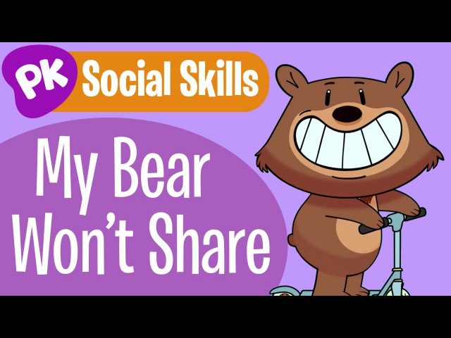 My Bear Doesnt Share! Social Skills songs for kids, learning songs for kids from PlayKids