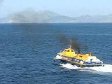 Flying Dolphin, port of Hydra, Greece